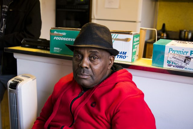 """I'm glad that I did it,"" Peter said since starting dialysis three days every week."