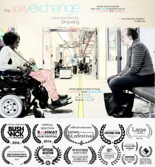 """The Ability Exchange"" will be screened at NYU Tandon School of Engineering on Wednesday, November 30."