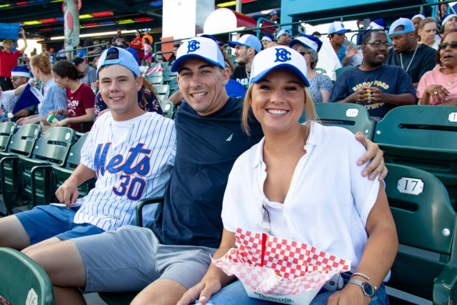 HeartShare Celebrates Christmas in July with the Brooklyn Cyclones
