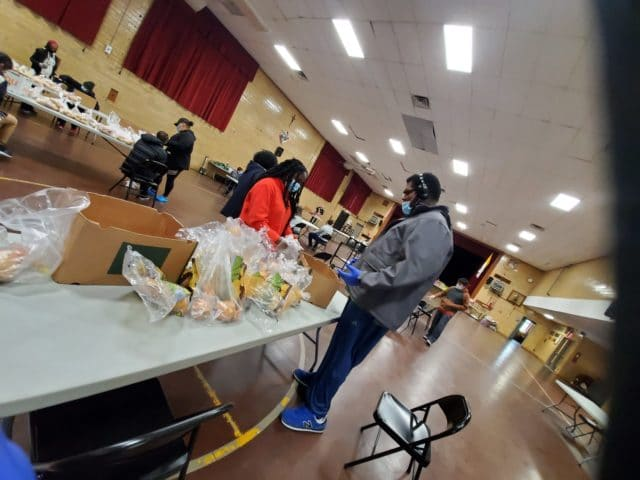 HeartShare_Knights of Columbus_food packages